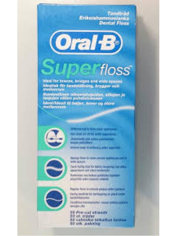 ORAL-B DİŞ İPİ SUPER FLOSS 50M