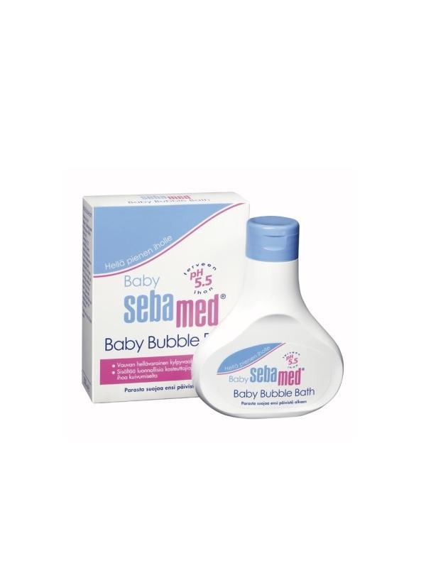 SEBAMED BABY BATH FOAM 200ML