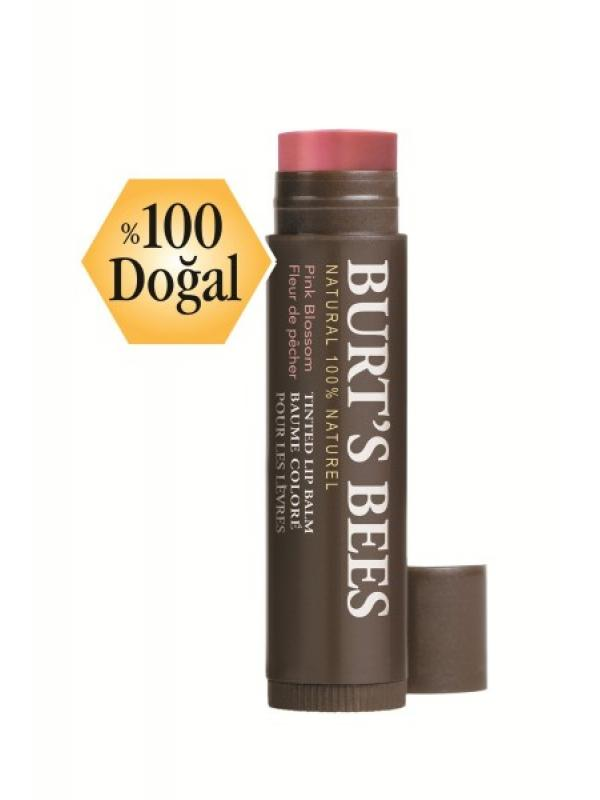 BURTS BEES NATURAL COLOR LIP PINK BLOSSOM