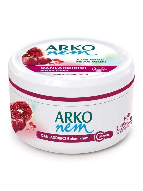 ARKO 300 ML.KREM Pomegranate & Red Grape