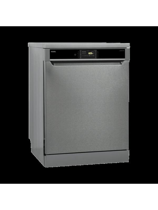 Vestel 10 Programmable Inox A +++ (- 20%) WIFI Technology Jet Washing 14 min Detail Washing 360 Triple Washing Sparkling Technology