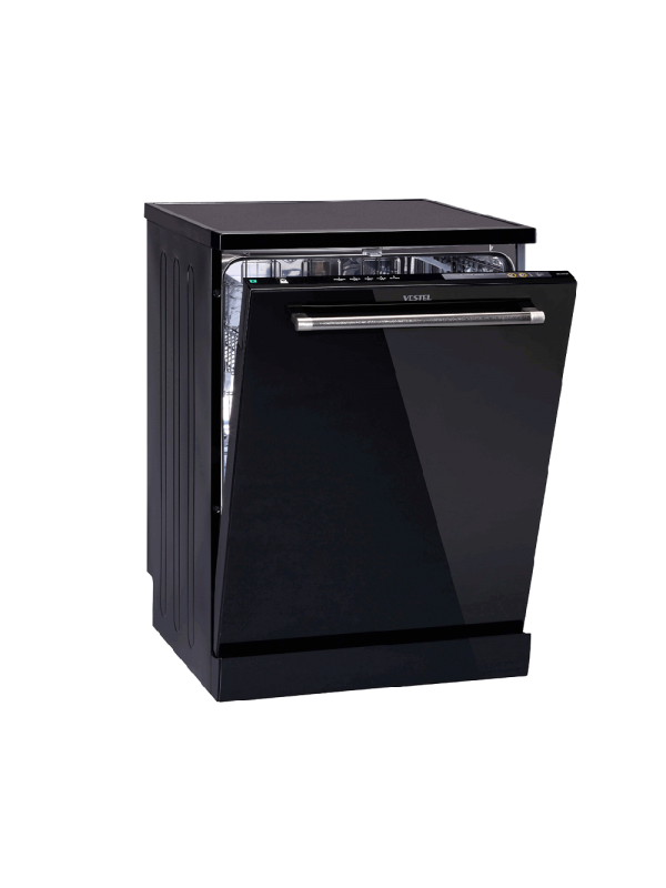 Vestel 5 Programs Black Glass Appearance A ++ Fast 30 min