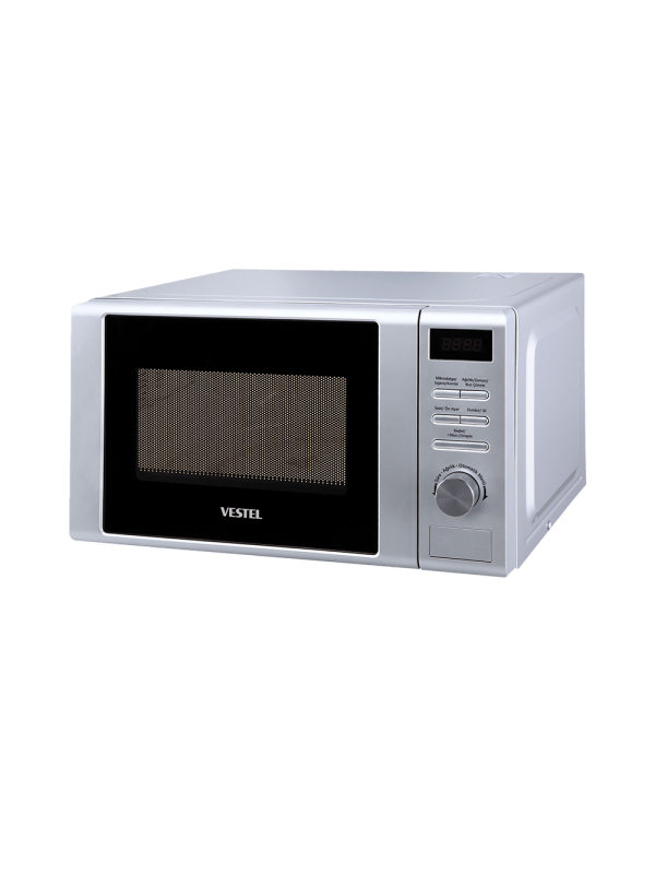 Vestel 20 lt, Digital, Gray, 700W Microwave Cooking Power