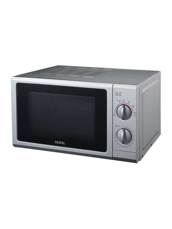 Vestel 20 lt, Mechanical, Gray, 700W Microwave Cooking Power