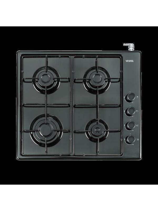 Vestel 4GG, Black Enamel Cooker