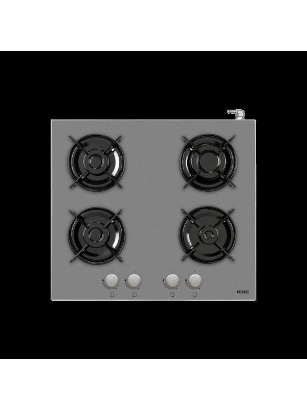 Vestel 4GG, Gray Glass Cooker