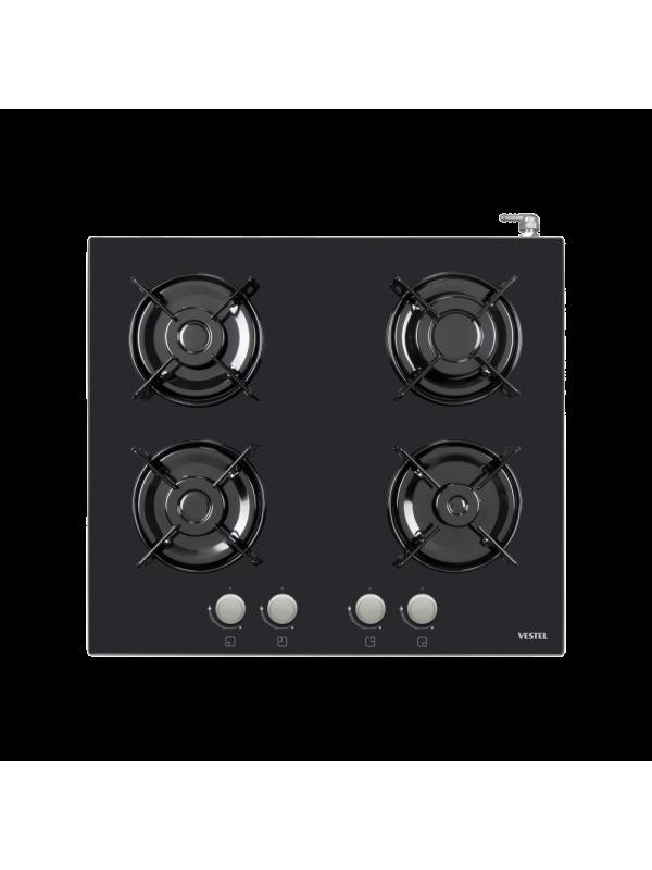 Vestel 4GG, Black Glass Cooker