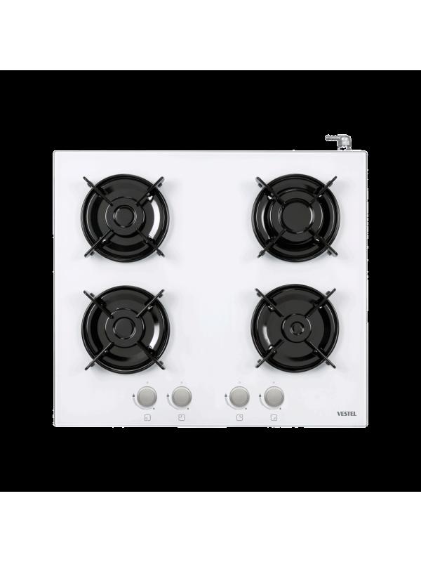 Vestel 4GG, White Glass Cooker